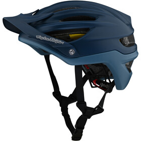 Troy Lee Designs A2 MIPS casco per bici, decoy smokey blue